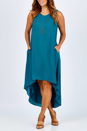 bird by design The Flowy High Low Hem Dress