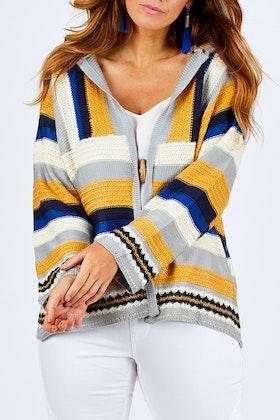 Sass Splendour Crochet Cardigan