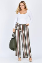 Belle bird Belle Rust Stripe Pant