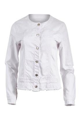 Threadz Collarless Denim Jacket