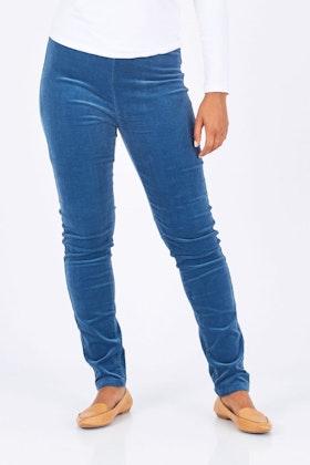 Vassalli Skinny Leg Cord Pull On Pant