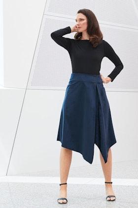6529430cfe83 Women's Knee Length Skirts Online | Shop All Styles Of Women's Knee ...