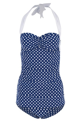 Esther Williams Swimwear Sandy Frock One Piece