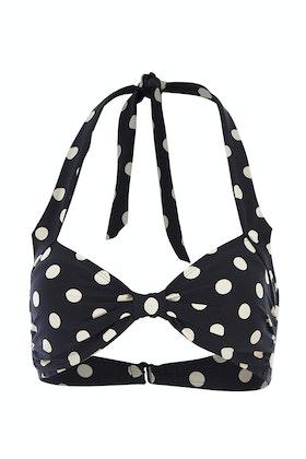 Esther Williams Swimwear Polka Dot Classic Top