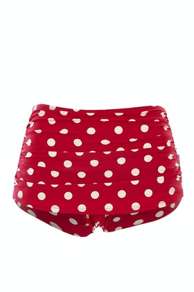 Esther Williams Swimwear Polka Dot Classic Pant