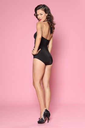Esther Williams Swimwear Solids Classic Sheath One Piece