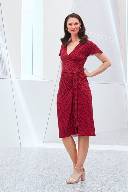 Sacha Drake Amy Dress - Womens Calf Length Dresses - Birdsnest ... 54b62b0d1
