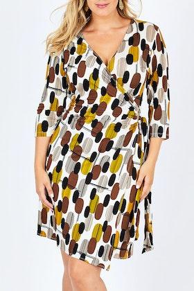 Cordelia St Wrap Dress