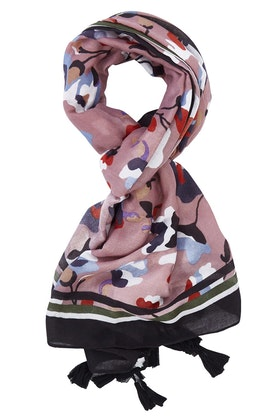Greenwood Designs Buds And Flowers Scarf