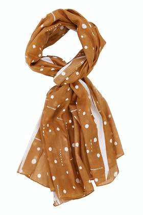 Greenwood Designs Dots With Dashes Scarf