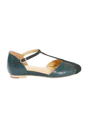 Charlie Stone Toscana Leather Flat