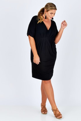 17 Sundays Freefall Pleat Dress