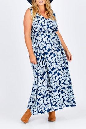 that bird label Robyn A-line Dress Entangled Vines