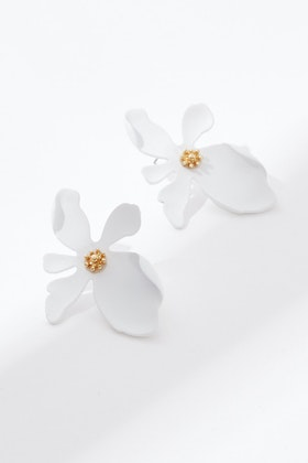 Greenwood Designs Flower Bling Earrings