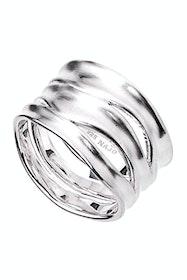Sterling Silver Ripple Ring