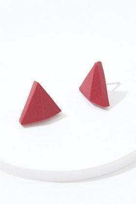 Greenwood Designs Handmade Triangle Earrings