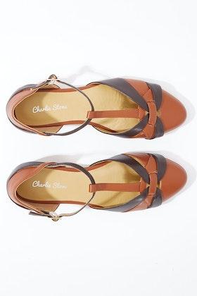 Charlie Stone Peta Leather Flat