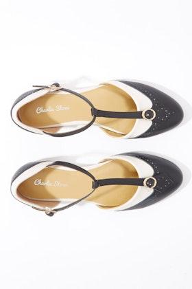 Charlie Stone Parisenne Leather Flat