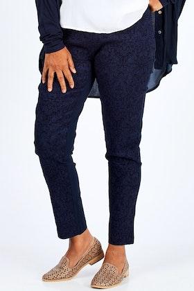 Threadz Textured Pants