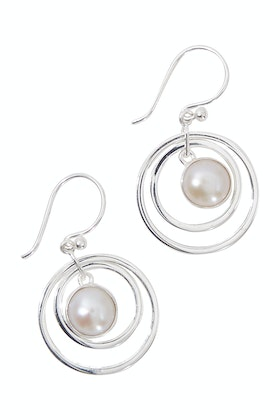 Lush Designs Eternal Pearl Earrings