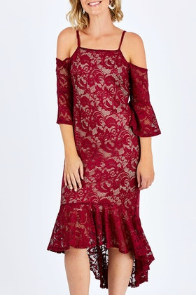 Moonlight Bird Georgina Dress