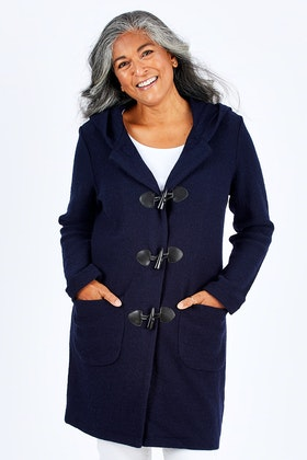See Saw Hooded Duffle Coat