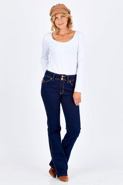 fbc728fde27e Embody Denim Fever Jean - Womens Bootcut Jeans - Birdsnest Online