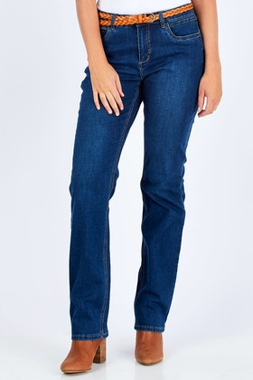 French Dressing Jeans Olivia Straight Leg Jean