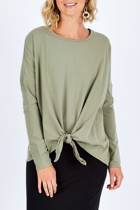 Betty Basics Willow Knot Top