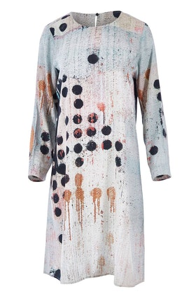 Yarra Trail Dominoes Print Dress