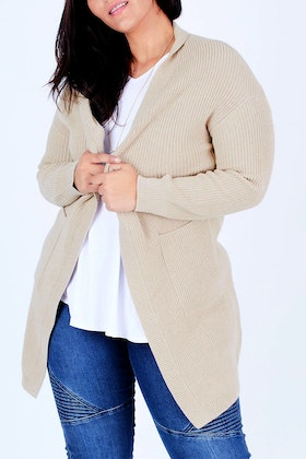 Natural for birds 100% Cotton Classic Cardigan