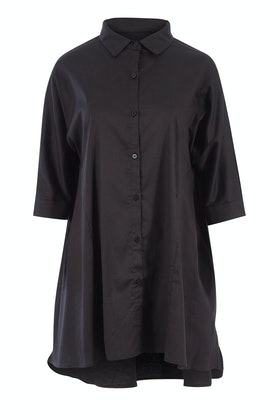 Tirelli Longline Gather Back Shirt