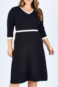 The Fit And Flare Knit Dress