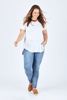 Lola Jeans Blair Mid Rise Ankle