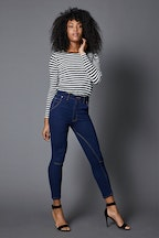 Embody Denim Soho Capri Jean