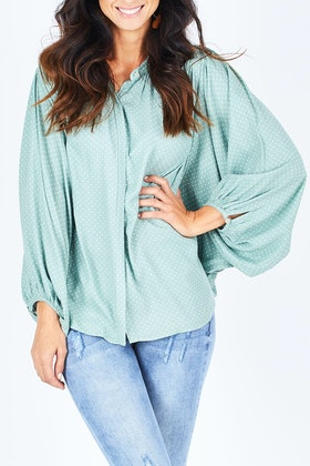 Fate + Becker Love Song Relaxed Blouse