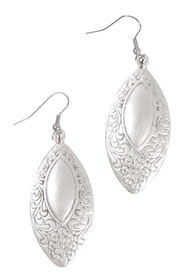 Lottie Silver Antique Earrings