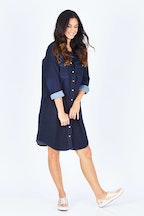 Yarra Trail Washed Denim Dress