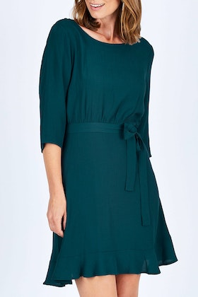 Fate + Becker Dare Tie Waist Dress