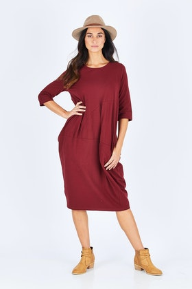 Tirelli Curved Seam Dress