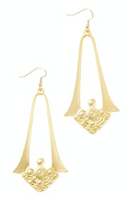 Mahalia Gold Antique Earrings