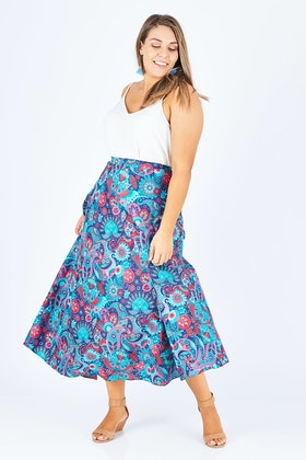 Rasaleela Grace Wrap Skirt