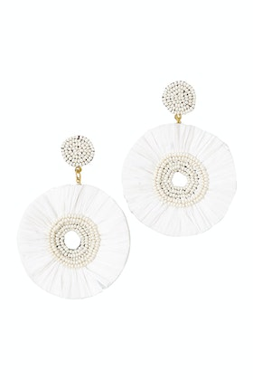 Zoda Circle Earrings