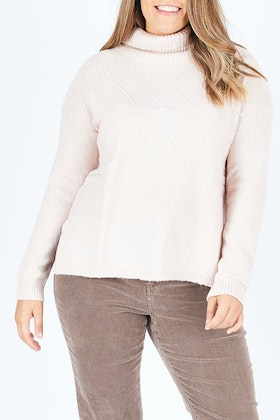 Jump Horizontal Cabel Pullover