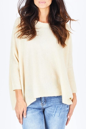 Only Meredith 7/8 Oversized Pullover Knit
