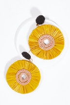 Zoda Circle Earrings