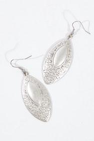 Lottie Silver Antique Earrings