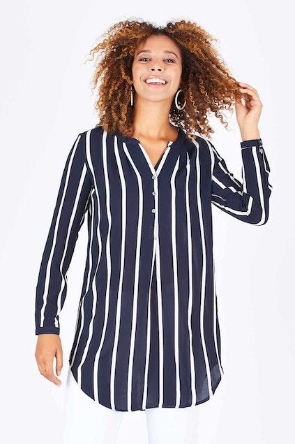 eb4fc2134c58c Only Aida Long Tunic Shirt - Womens Tunics - Birdsnest Online