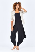 Y Waterfall Harem Pant