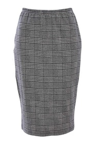 Belle Check Pencil Skirt